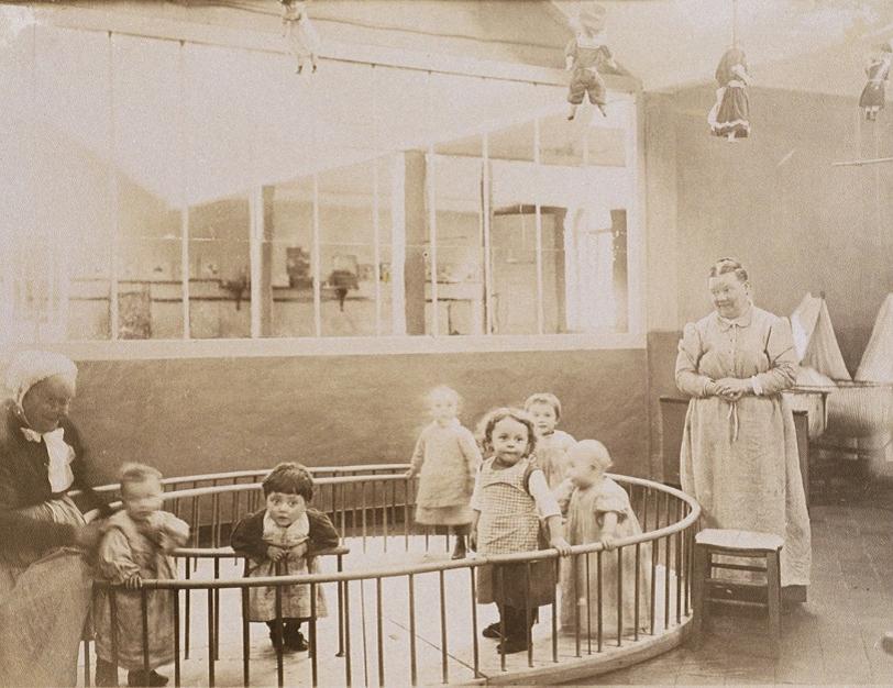 Photographie anonyme, vers 1889. Collection Familistère de Guise.