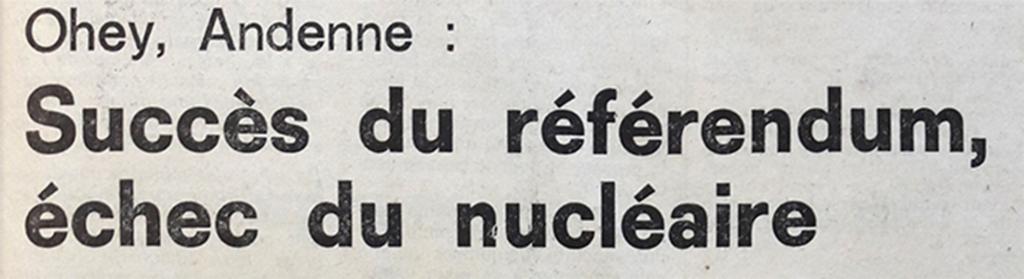 Première page du journal La Cité du 2 octobre. La Cité, lundi 2 octobre 1978 », 28e année, N° 229, p. 1.